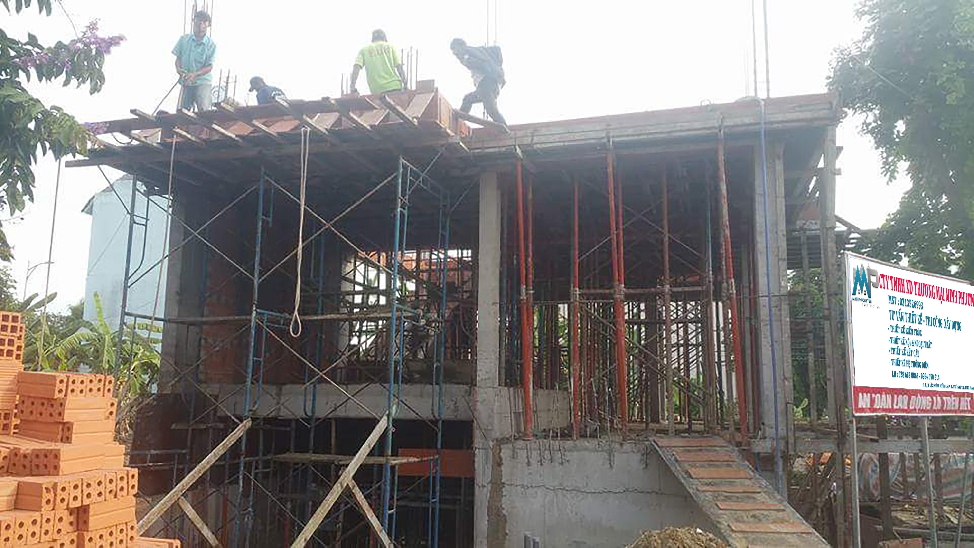 thi công xây dựng biệt thự q2