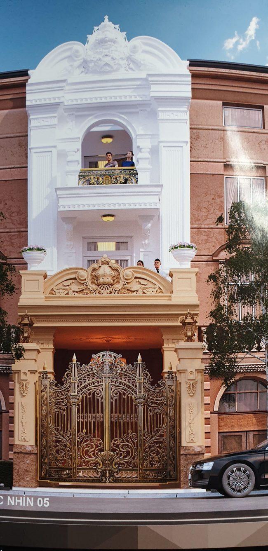 Xây nhà phố phong cách cổ điển