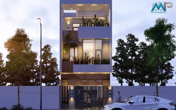 Đơn giá thiết kế nhà Phố trọn gói năm 2021
