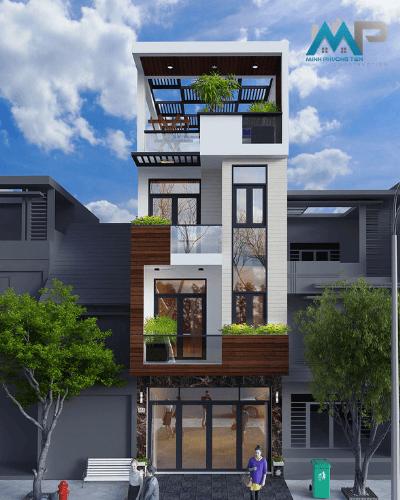 Thi công nhà phố 6 tầng, Phường Bình An, Quận 2