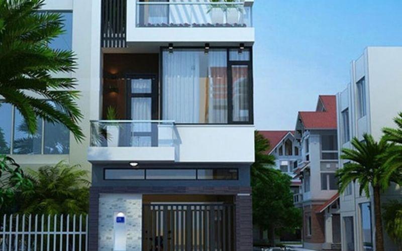 Top 5 mẫu nhà phố 3 tầng 5×16 đẹp, ấn tượng nhất